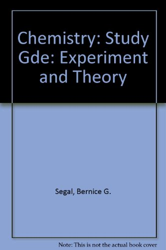 Chemistry: Experiment and Theory, 2nd Edition