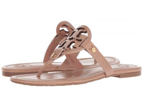 Tory Burch Miller Metallic Sandal Womens (8.5, Light ()