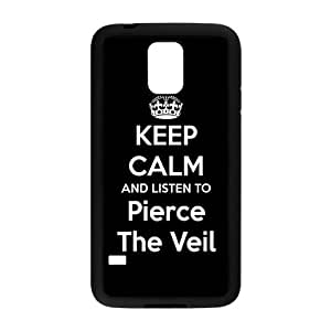 Flexible Durable Samsung Galaxy S5 Case, Pierce The Veil Back Cover For Samsung Galaxy S5 i9600