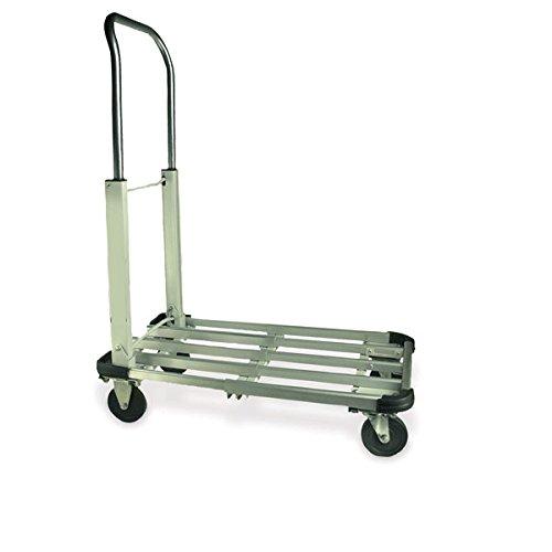 Folding Aluminum Cart 21.5''L x 16.5''W x 28.5''H