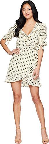 for Love and Lemons Women's Sweetheart Wrap Mini Dress Cr¿Me Small