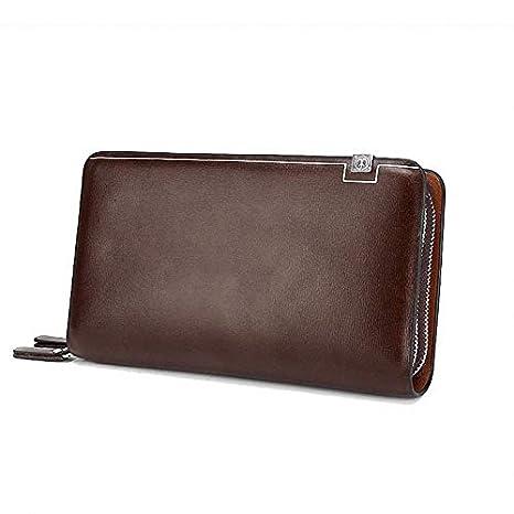Amazon.com: DeemoShop Business Men Wallet Long Designer ...
