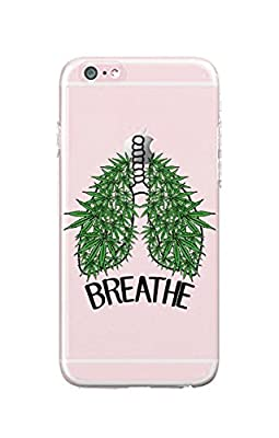 iPhone 6/iPhone 6S - Durable Slim Case - Weed - Weeds - Breath - Weed Quotes - Quote - Fun Quote - Fun - Funny
