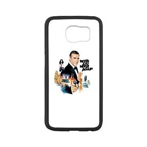 Samsung Galaxy S6 Cell Phone Case Black James Bond SLI_516079