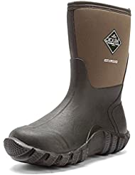 Muck Boots Unisex Edgewater Waterproof Neoprene Boots Moss (Mens 14.0M / Womens 15.0M)