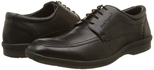 Hombre Sam De Cordones Negro noir Derby Zapatos Puppies Para Perm Hush 8 CUqanw50xn