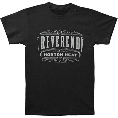 Reverend Horton Heat Men's Pinstripe T-shirt Black