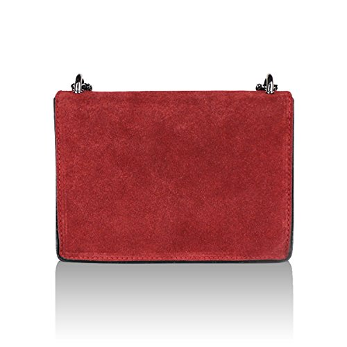 Rojo Multicolor Asas Bolso Para De Sunlike Mujer TxUSYqFW