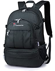 Mountaintop Casual Daypack College Backpack for Travel Hiking Rucksack.