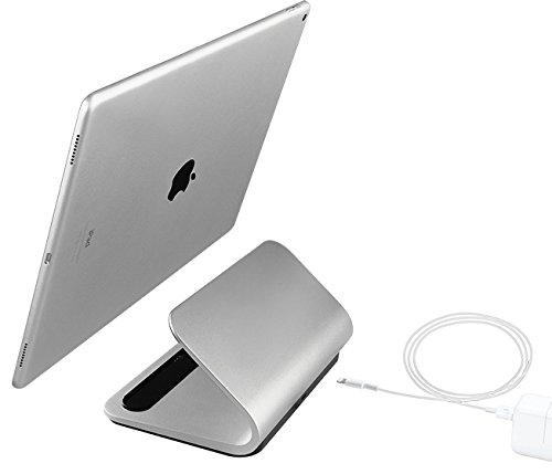 """Logitech Base Charging Stand – for 12"""" and 9.7"""" iPad Pro – Premium Aluminum Construction – Smart Connector Technology by Logitech (Image #5)"""