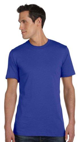 Bella 3001 Unisex Jersey Short Sleeve Tee - True Royal, 2XL (Royal Blue Canvas)