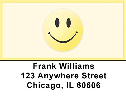 Classic Smiley Face Address Labels (Face Personalized Address Labels)
