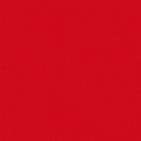 Tela por metros de loneta lisa (0,50 x 2,80 m) | Rojo