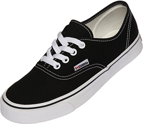 Casual 130 Canvas Slip Simple Shoes SNRD Ons Unisex Black TIZwdn7qW