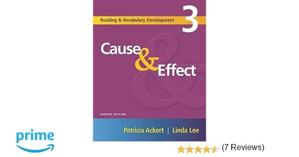 Cause & Effect (Reading & Vocabulary Development, 3): Patricia ...