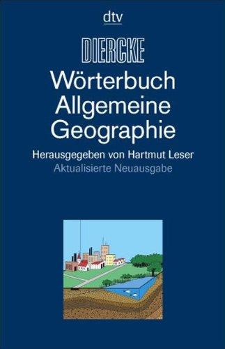 DIERCKE-Wörterbuch Allgemeine Geographie