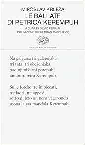 Le Ballate Di Petrica Kerempuh Krleza Miroslav 9788806170271