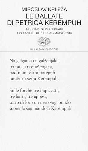 Scaricare Le Ballate Di Petrica Kerempuh Pdf Miroslav Krleza