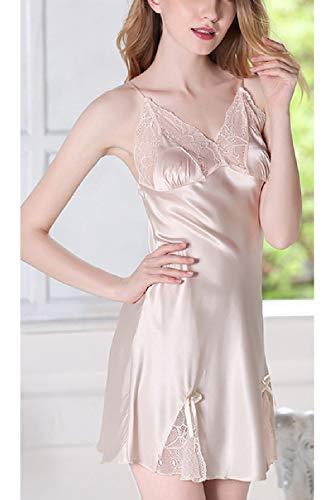 Kimono Pigiama Hot Champagne Ryon E Lace Donne Estate Le Prendisole 8qYpp