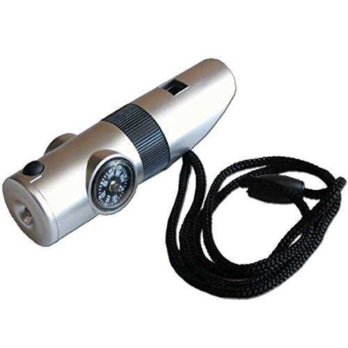 7 In 1 Survival Whistle With Led Light in US - 9