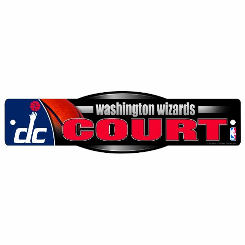 NBA Washington Wizards 4.5-by-17 Inch Sign by WinCraft