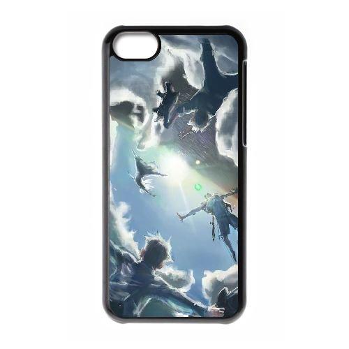 Peter Pan 010 coque iPhone 5C Housse téléphone Noir de couverture de cas coque EEEXLKNBC19299