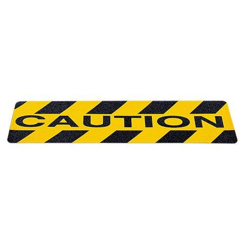 Incom Gator Grip CAUTION Anti-Slip Cleat, 6-Inch x 2 Foot...