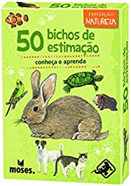 50 Bichos de Estimação - conheça e aprenda - Galápagos Jogos (Moses)