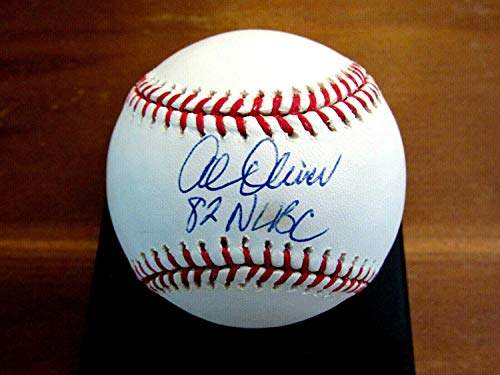 Al Oliver 1982 Nl Batting Champ Montreal Expos Autographed Signed Oml Baseball JSA - Authentic - Batting 1982 Nl