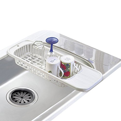 Dish Drying Rack Over the Sink Large Size Plastic