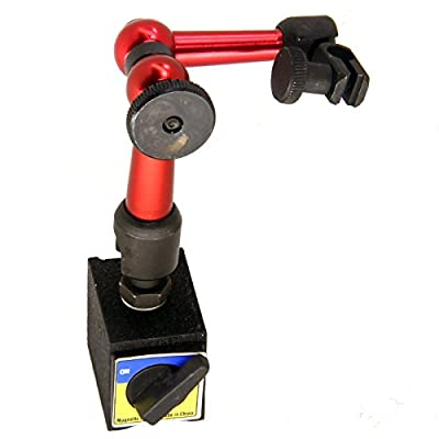 HFS (Tm) Magnetic Base Adjustable Metal Test Indicator Holder Digital Level - Tool Stand