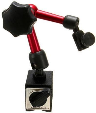 Magnetfuss Stand - TOOGOO(R)Einstellbares Magnetmessstativ Unterseiten Halter Digitaler Fuellstand Messuhr