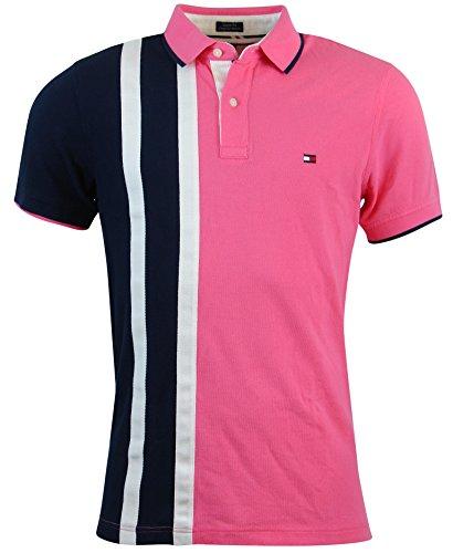 Tommy Hilfiger Custom Fit Polo Shirt USA Pieced Polo | Polos