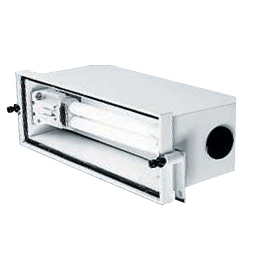 Juno Lighting Group PL115 CFL Non-IC Outdoor Rated Step Light Recessed Housing