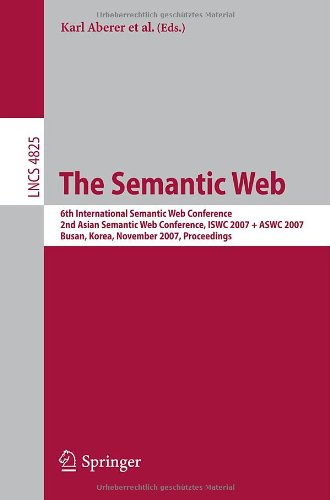 [PDF] The Semantic Web Free Download   Publisher : Springer   Category : Computers & Internet   ISBN 10 : 3540762973   ISBN 13 : 9783540762973