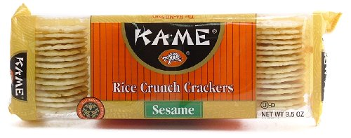 Kame Sesame Crackers - Kame Sesame Rice Crackers - 12/3.5 oz