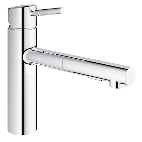 Grohe Single Handle Faucets - Concetto Single-Handle Pull-Out Kitchen Faucet with Dual Spray