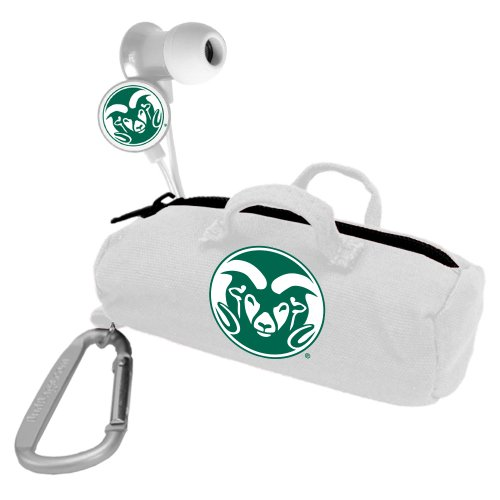 AudioSpice NCAA Colorado State Rams Scorch Earbuds with Bud Bag from AudioSpice