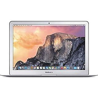 Apple MacBook Air MF068LL/A Intel Core i7-4650U X2 1.7GHz 8GB 128GB, Silver (Renewed)