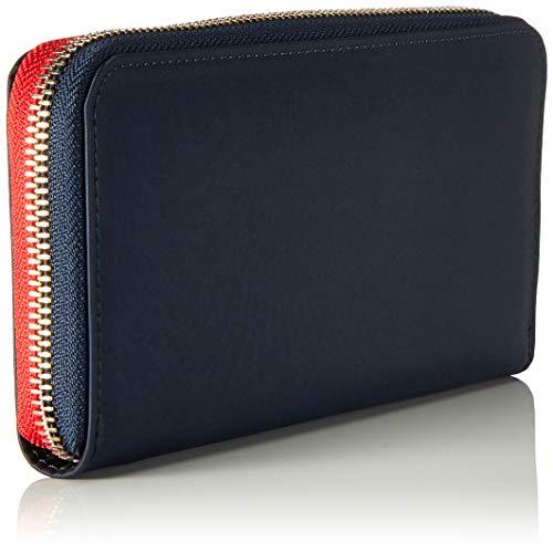 Donna Portafogli Wallet Blu Navy Hilfiger tommy Lrg Tommy Poppy Za XSYSFq