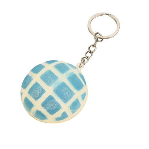 Lisin 5pcs/10pcs Toys Keychain Medium Mini Soft Squishy Bread Toys Key (5pcs)