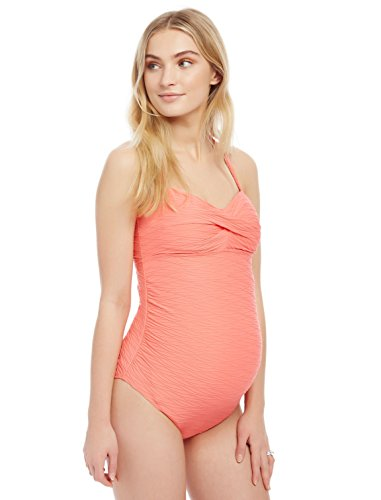 Motherhood Sweetheart Detail Maternity One Piece Swimsuit