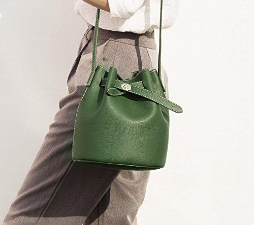 elegante MinottaUKD6006 Sintético bolso de mano de Verde Minotta Mujer xq4pgFPg