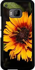 Funda para Htc One M9 - Flor Amarilla by loki1982