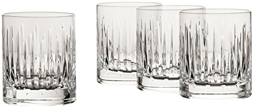 Reed & Barton Crystal Set of Double Old Fashions, Set of 4 (Evening Dinnerware Sun Collection)