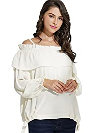 Sweet Mommy Maternity and Nursing Romantic Blouse Top