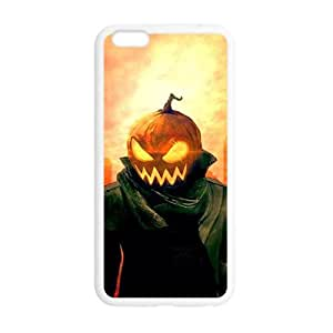 Happy Halloween pumpkin ghost Case for iPhone 6 plus 5.5""