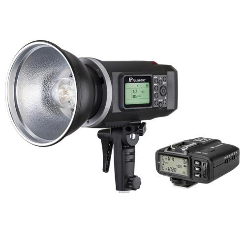 Flashpoint XPLOR 600 HSS Battery-Powered Monolight with Built-in R2 2.4GHz Radio Remote System and R2 Transmitter for Nikon (Bowens Mount) by Flashpoint