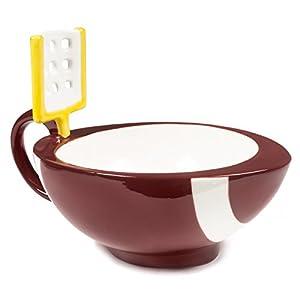 The Mug With A Goalpost Football Mug by MAX'IS Creations
