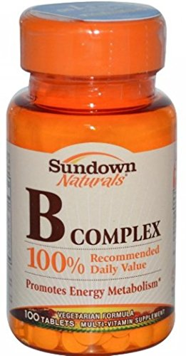 Sundown Naturals B-Complex, Tablets 100 ea